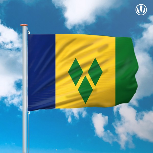 Mastvlag Saint Vincent en de Grenadines