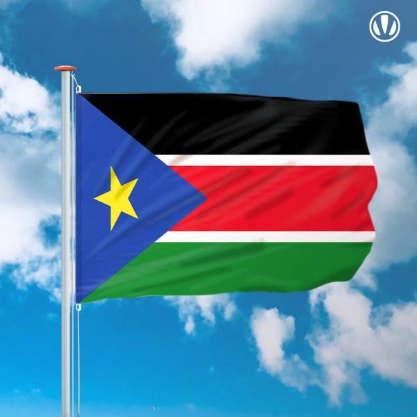 Mastvlag Zuid-Soedan