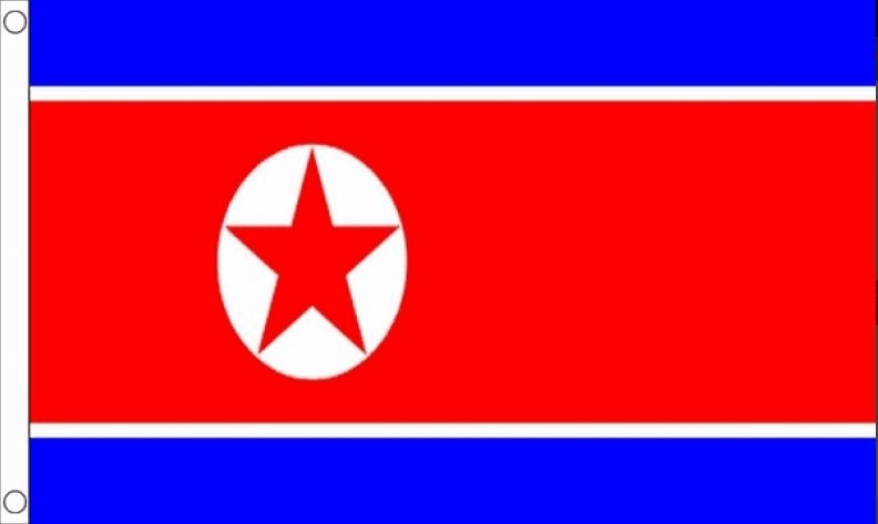 Noord-Koreaanse vlag | vlaggen Noord-Korea 60x90 Best Value