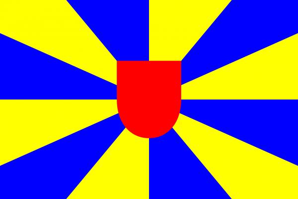 Grote vlag West-Vlaanderen