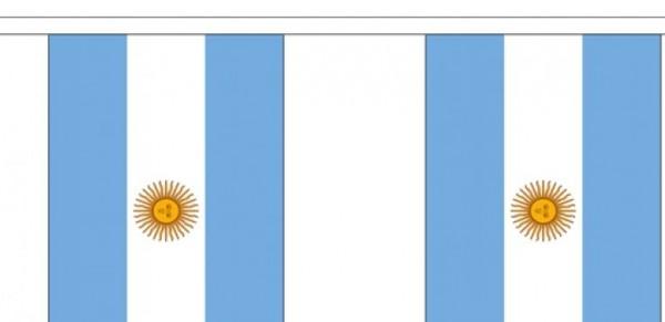 Vlaggenlijn Argentinie Argentijnse vlaggenlijnen 3m