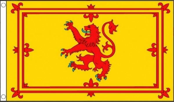 Vlag Schotland leeuw