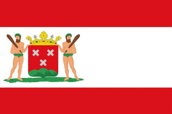 Grote vlag Bergen op Zoom