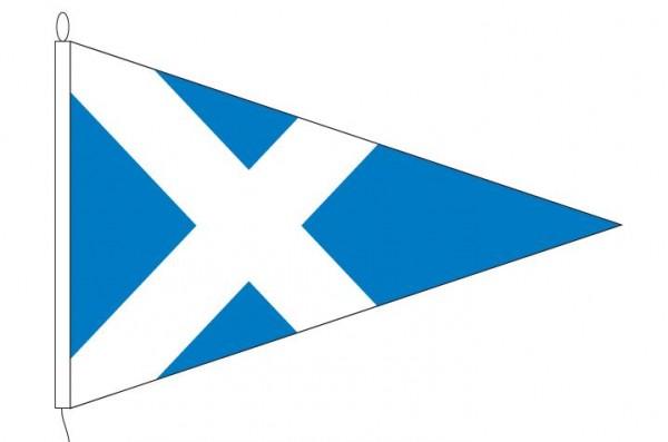 Wimpel Schotland 30x45cm puntvlag