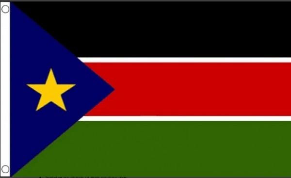 Vlag Zuid Soedan 60x90cm