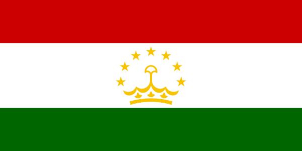 Tadzjiekse vlag | vlaggen Tadzjikistan 100x150cm gevelvlag