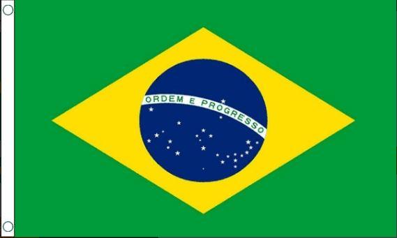Vlag Brazilië 150x240cm Best Value