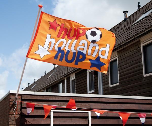 Oranje Hup Holland vlag EK WK vlagen 90x150cm