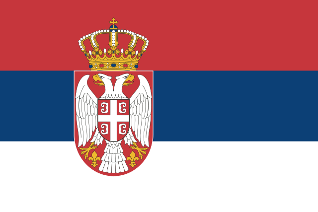 Servische vlag 70x100cm
