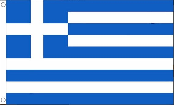 Griekse vlag Griekenland 90x150cm Best Value