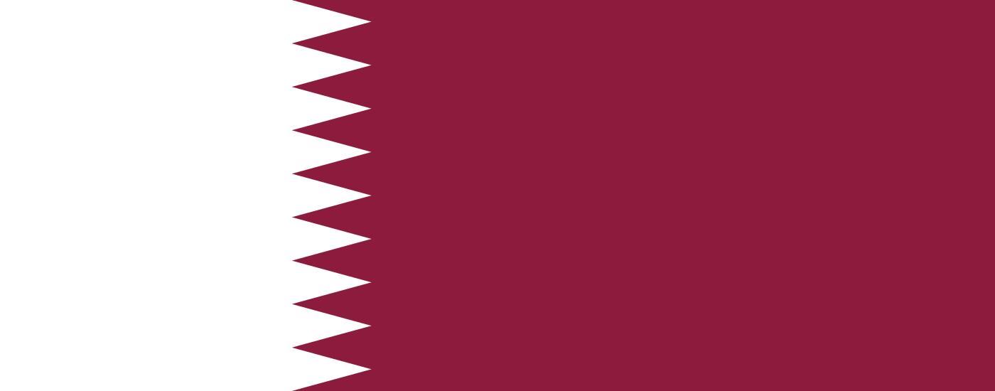 Tafelvlaggen Qatar | Qatarees tafel vlaggetje 10x15cm kopen bij Vlaggenclub