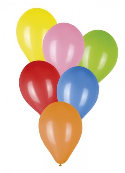 ballonnen vrolijke kleuren 20 stuks