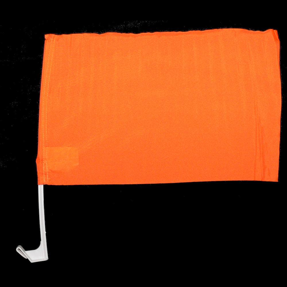 Maak je eigen oranje autovlag