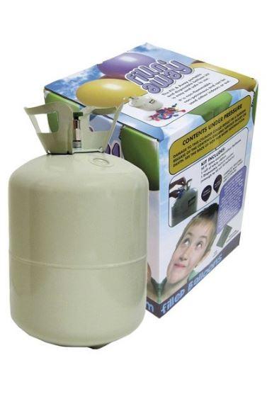 Ballonnenpomp helium cylinder 0.25m3 voor 30 ballonnen
