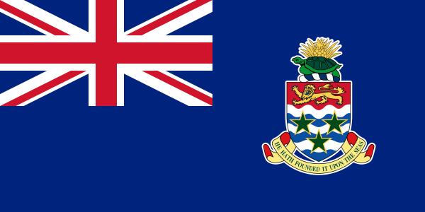 Tafelvlaggen Caymaneilanden 10x15cm | Kaaimaneilandse tafelvlag