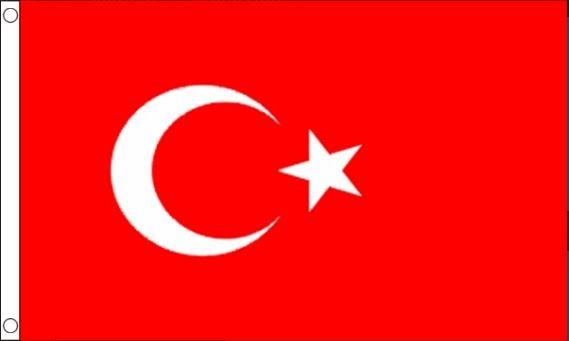 Turkse vlag, vlaggen XXL 150x240cm Best Value
