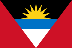vlag Antigua en Barbuda | Antiguaanse vlaggen 100x150cm