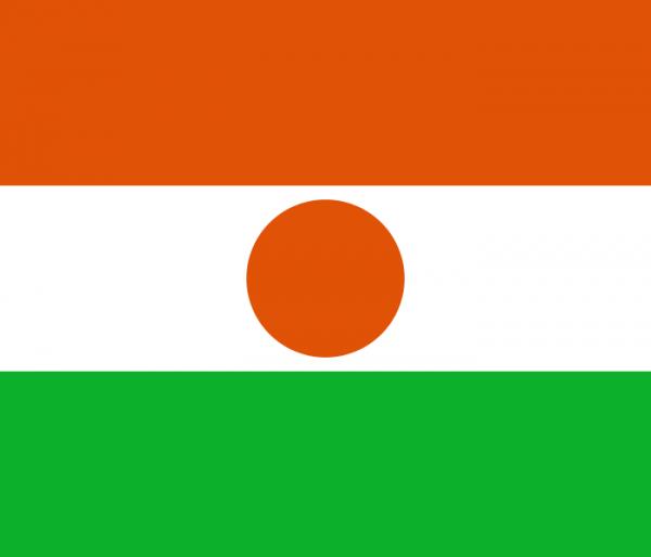 Tafelvlaggen Niger 10x15cm| Nigerse tafelvlag