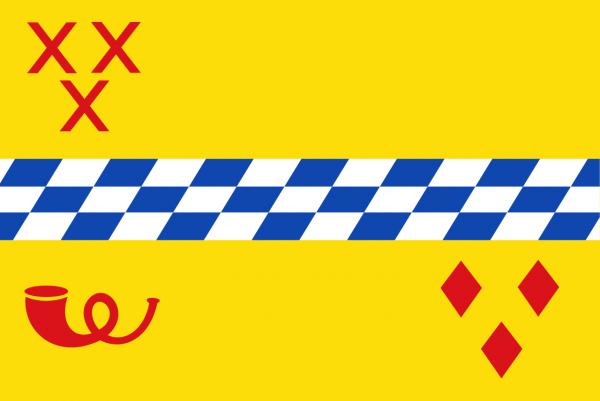 Grote vlag Woerden