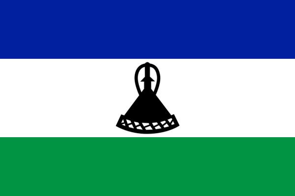 vlag Lesotho, Lesothaanse vlaggen 100x150cm