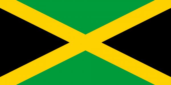 Vlag Jamaica 100x150cm Glanspoly
