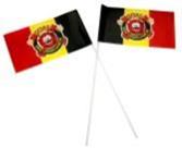zwaaivlaggen van stof 20x30cm laten bedrukken met uw reclame of logo bij Vlaggenclub