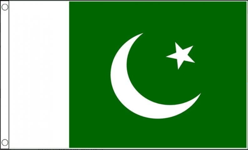 vlag Pakistan, Pakistaanse vlaggen 150x240cm best value
