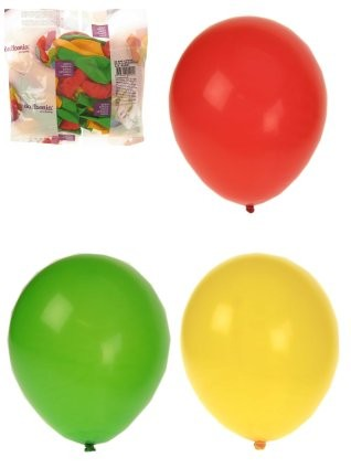 Ballonnen Carnaval Limburg Rood/Geel/Groen kopen 100 stuks
