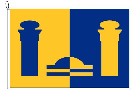 Vlag gemeente Bennekom 100x150cm
