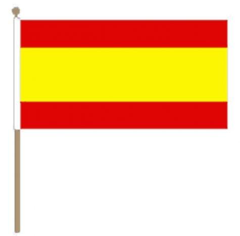 Spaanse zwaaivlag Spanje 30x45cm, stoklengte 60m