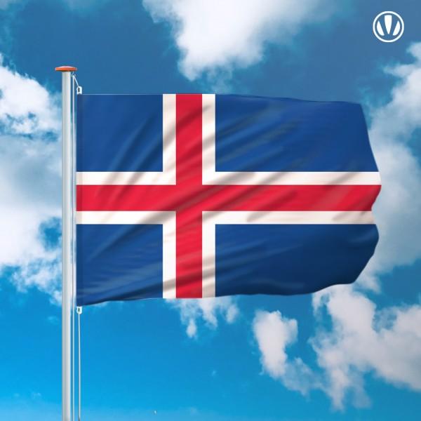 Mastvlag IJsland