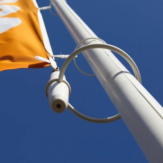 Vlaggenmast gewicht staaf met ring voor mast