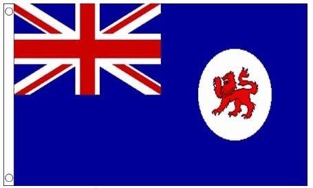 Vlag Tasmanië best value 90x90cm