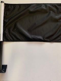 Zwarte autovlag autovlaggen Zwart luxe