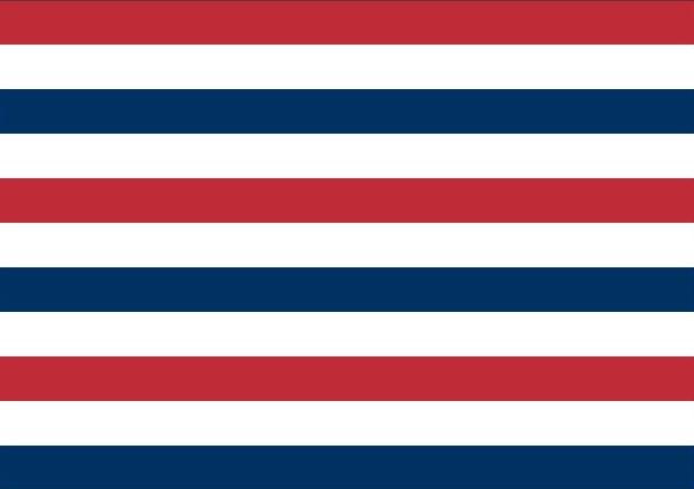 Admiraalsvlag Oud Hollands 120x180cm
