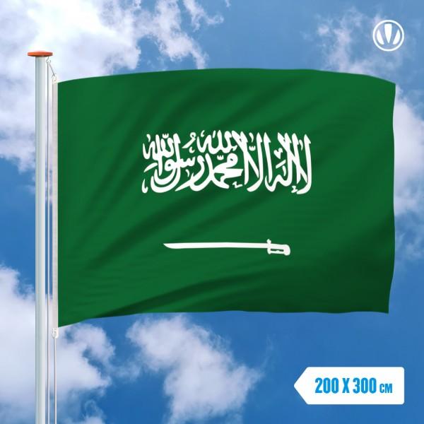 Grote Mastvlag Saoedi-Arabie