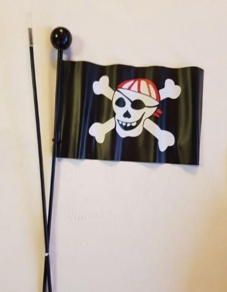Fietsvlag kinderfiets, piratenvlag