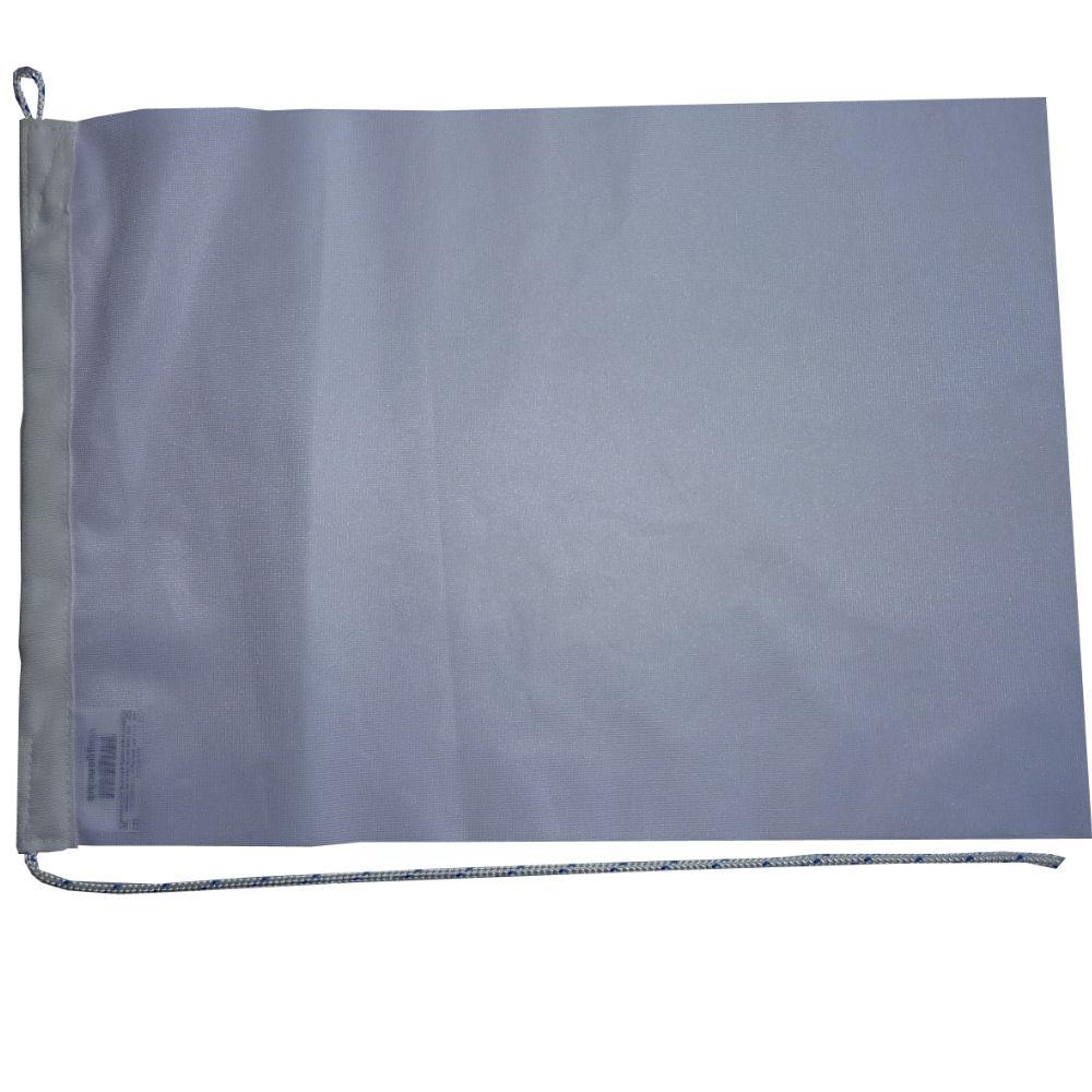Witte vlag 20x30cm