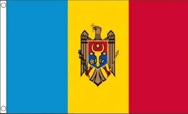 vlag Moldavië   Moldavische vlaggen 30x45cm