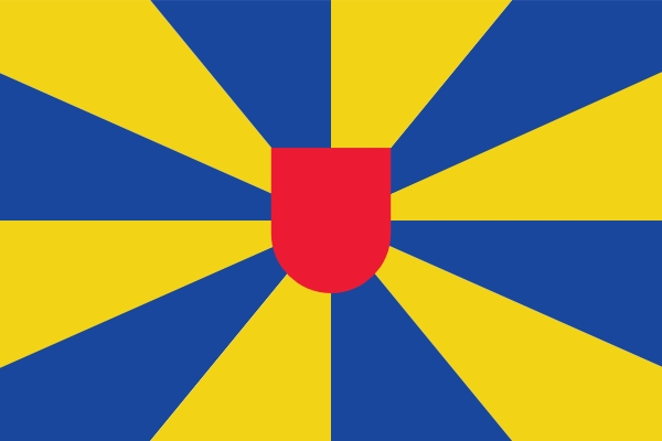 Tafelvlag West Vlaanderen 10x15cm