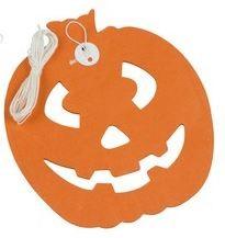Slinger pompoen 3m van papier, Halloween