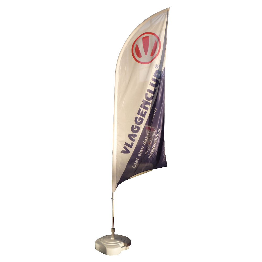 Beachvlaggen met uw reclame laten bedrukken