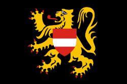 Tafelvlag Vlaams Brabant 10x15cm