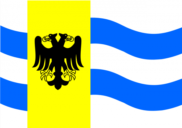 Grote vlag West Maas en Waal