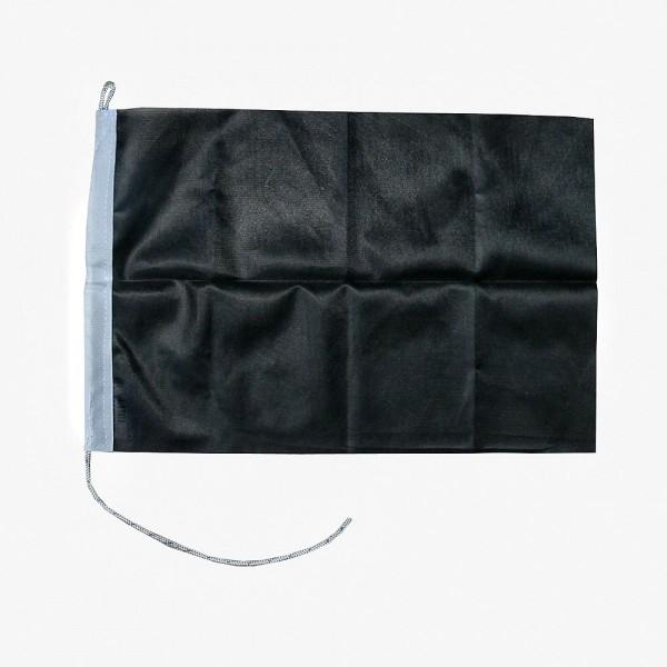 Zwarte vlag 20x30cm