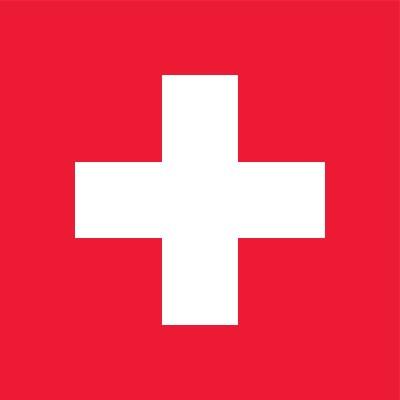 Zwitserse vlag   vlaggen Zwitserland 100x100cm