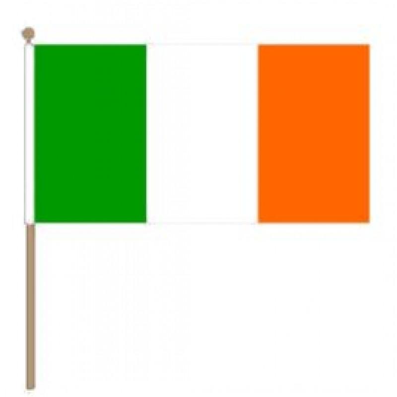Ierse zwaaivlag 30x45cm Ierland