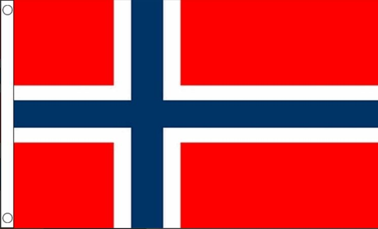 Vlag noorwegen 60x90 best value