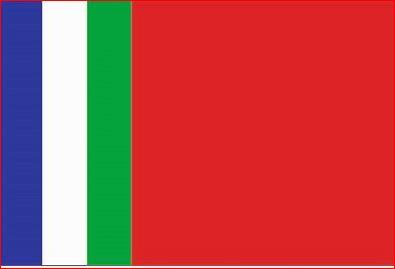 Tafelvlaggen Molukken | Moluks tafel vlaggetje 10x15cm kopen bij vlaggenclub