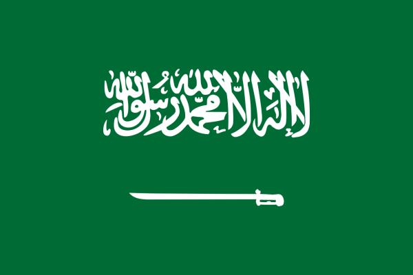 Vlag Saoedi-Arabie 100x150cm Glanspoly